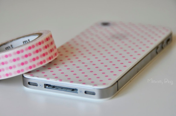 iphone con washi tape